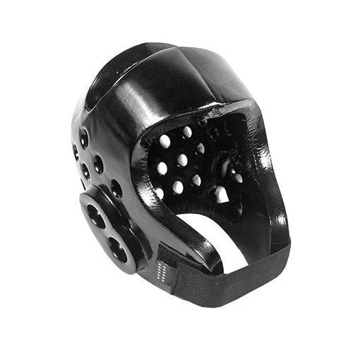 Tiger Claw Sparmaster Pro-Spar Head Guard (NO LOGO) - Black - Medium - Headgear Foam Ear Guard