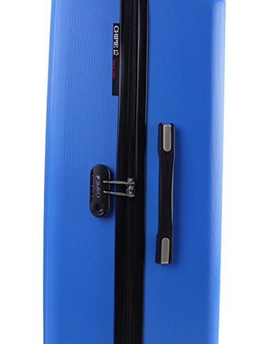 Bolsa Azul de 48 33 Rueda Viaje BLU Policarbonato 4 Policarbonato Equipaje CHIPIE s Bolsa de 34600 Tranvía cm Azul Tranvía Cremallera x5qYH5BX