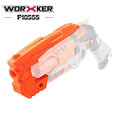 WORKER NO.217 B Type Mod Kit Set for Nerf Hammershot attachments: Toys & Games