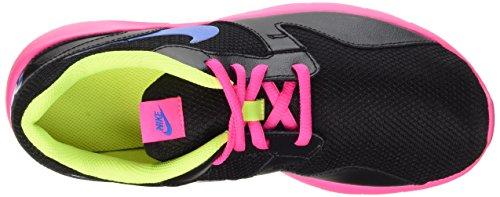 Nike Kaishi (GS), Zapatillas de Running Para Niñas Negro / Azul / Rosa / Verde (Black / Photo Blue-Pink Pow-Volt)