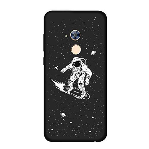 Case for Huawei Honor 6C Moon Space Animal Bear cat Silicone Phone Back Cover for Huawei Nova Smart/Enjoy 6S Coque,XQ 3 Black case,for Nova Smart (Iphone 3gs Nike Case)