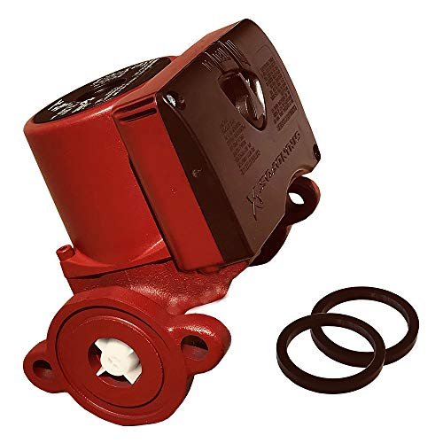 Grundfos UPS15-58FC Circulator Pump Red