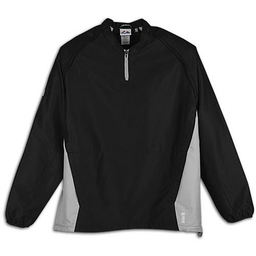 Majestic Adult Cool Base Convertible Gamer Jacket Black/Silver Small