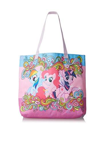 My Little Pony Rainbow Swirls Beach Tote with - Totes Sunglasses