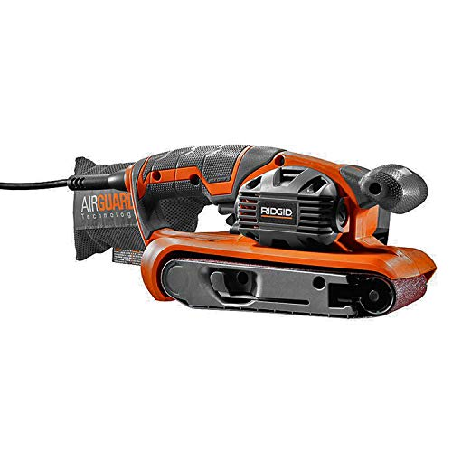 RIDGID R2740 Heavy Duty Variable Speed Belt Sander 3 in.