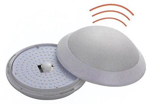 pronetelec Hublot LED Detector de movimiento 30 W 4200 K 120 °, IP54, IK10