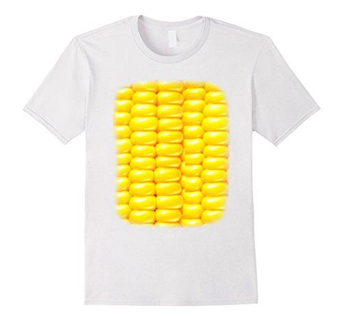 Corn On The Cob Costume (Mens Sweet Corn on the Cob T Shirt XL White)