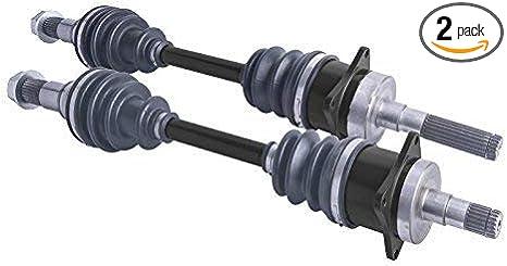 Can Am Outlander front cv axles /& wheel bearings set 650//800//1000 2006-2015