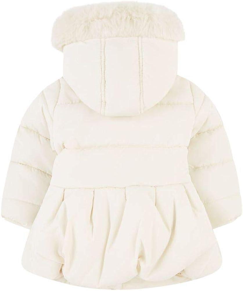 Mothercare Baby Sr Flow Padded Border Print Cream Fleece Lined Bodysuit