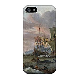 Premium Protection Dutch Whalers Case Cover For Iphone 5/5s- Retail Packaging