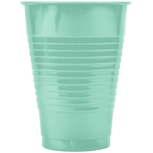 Creative Converting 28312471 12 oz. Hunter Green Plastic Cup - 240/Case