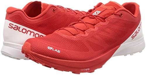 Aw18 Chaussures lab Trail Salomon S Rouge Sense 7 De Course qxOSqfg