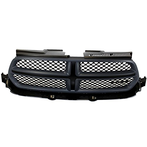 2013 Dodge Durango Grille - Koolzap For 11-13 Durango Front Grill Grille Assembly Primered Gray Shell Molding 1RE01TZZAI