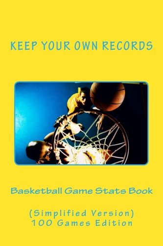 Basketball Game Stats Book Simplified product image