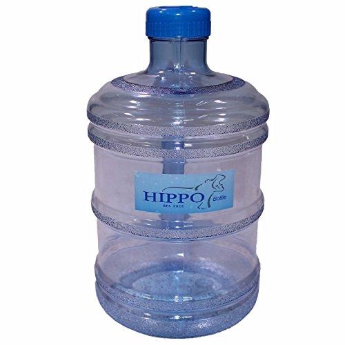 ZForce Eco Friendly 1ガロンBPAフリー再利用可能なプラスチック飲料水Big MouthボトルコンテナJug withホルダーDrinking Canteen B075KS32XW ライトブルー
