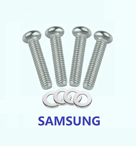 for Samsung TV Samsung M8 x 43 TV mounting Bolts//Screws and spacer