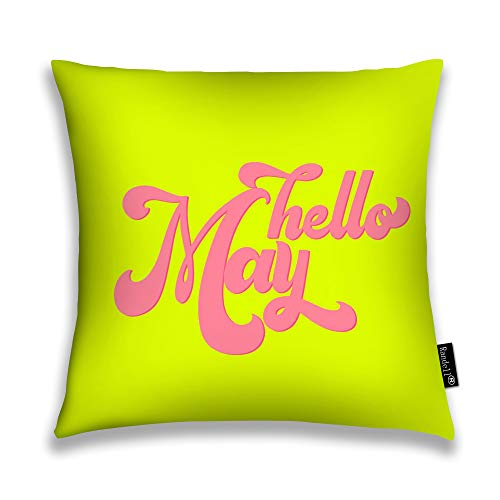 Randell Throw Pillow Covers Hello May Elements Seasons