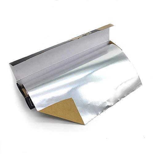 Parchment-Lined Foil 30cm X 15m Laminated Parchment Food Packing Backed Paper Aluminum foil