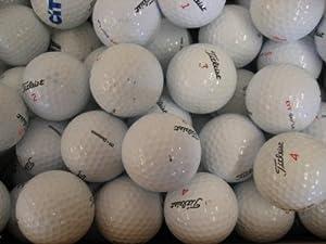 Titleist Golfbälle Klasse AAA/AA, 50 Stück, Lakeballs (Gebrauchte Golfbälle)