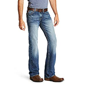 7a801d318727c ARIAT Men s M7 Rocker Cooper Tekstretch Boot Cut Jean