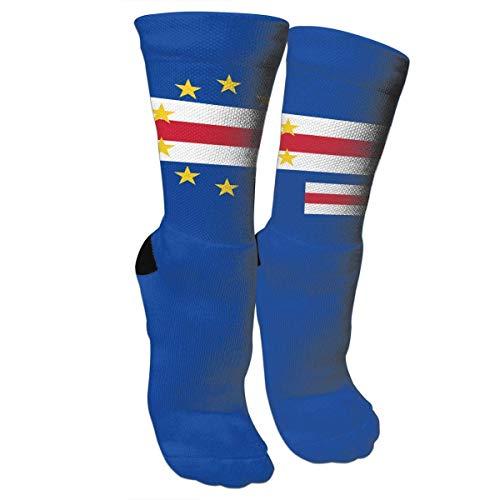 Originality Cape Verde Socks Crew Sock Crazy Socks Long Tube Socks Novelty Fun for Women Teens Girls (Cape Socken)