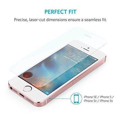 Anker Glas Schutzfolie Fur Apple IPhone SE Amazonde Elektronik