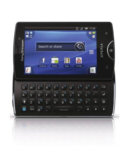 Sony Ericsson Xperia Mini Pro SK17i Black Factory Unlocked GSM Android Smartphone - International Version Original from Sony