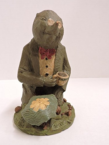 """Tom Clark Gnome by Cairn Studios """"Mole"""" From Wind In The Willows 1983 Retired Figurine"""