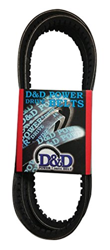 D/&D PowerDrive 532780M2 Massey Fergusen Replacement Belt 15 52.57 Length Rubber 1 -Band