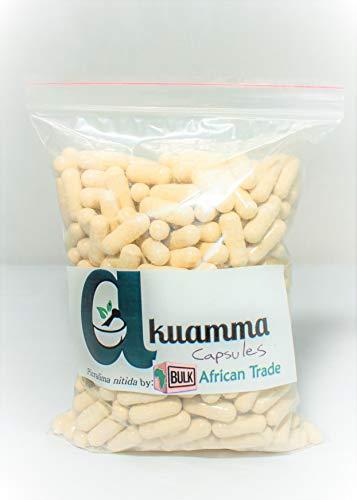 Akuamma (Picralima nitida) Seed Capsules 650mg/cap -