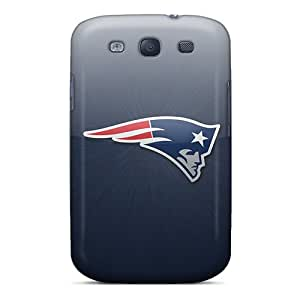 PhilHolmes Samsung Galaxy S3 Bumper Hard Phone Cases Provide Private Custom Colorful New England Patriots Pictures [JSm14486AYLd]
