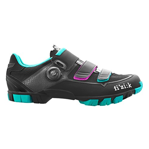Fizik M6B - Chaussures - noir/turquoise Modèle 39 2017 chaussures vtt shimano