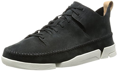 Clarks Trigenic Leather Sneakers In WywenVyJIn