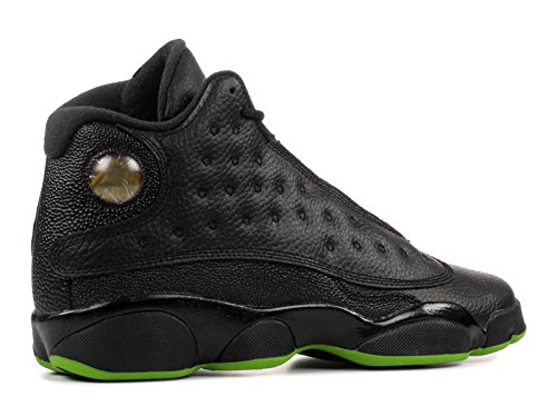 Pictures of Jordan Air XIII (13) Retro (Kids) Black, Altitude Green 2