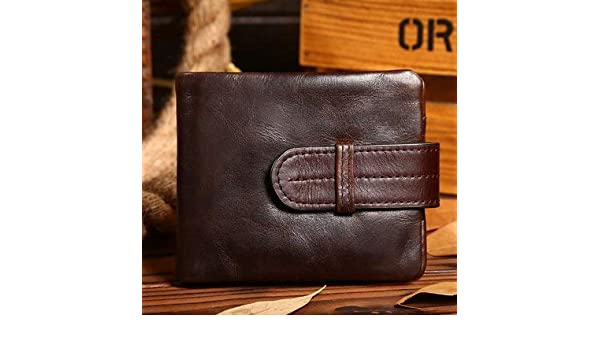 Amazon.com: Luxury Vintage Casual 100% Real Genuine Cowhide ...