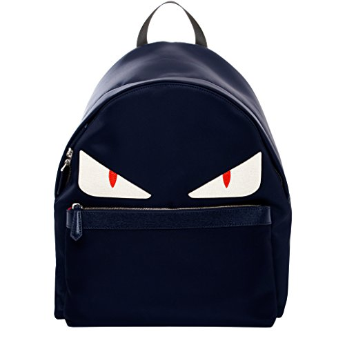 fendi-mens-nylon-monster-backpack-navy