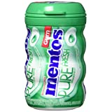 Mentos Pure Fresh Gum, Spearmint, Pack of 6
