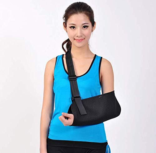 Magnoloran Ergonomic Arm Sling Medical Support Strap, Lightweight Breathable Wrist Elbow Support Medical Sling Shoulder Support Brace, Surgery and Injury Recovery Sling for Shoulder, Arm, Elbow, Rotat