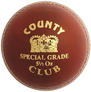 Hunts County Balle de Cricket Club Senior et Junior pour Homme–Orange–155,9Gram 9Gram