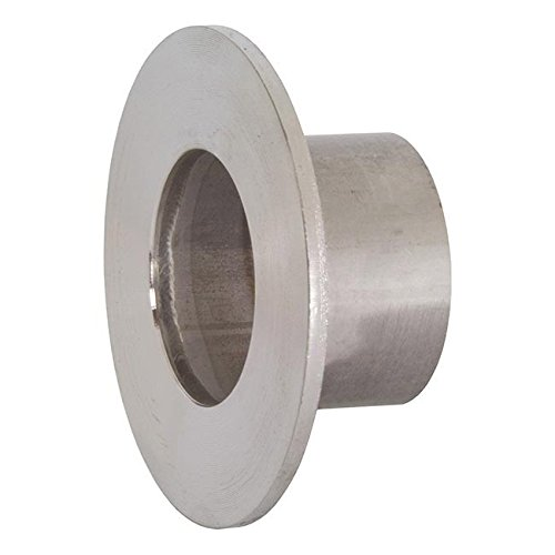 Dixon 14VB-R400 Stainless Steel 316L Sanitary Fitting, Unpolished Stub End, 4'' Tube OD by Dixon Valve & Coupling