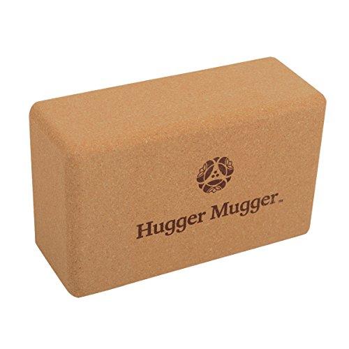 Hugger Mugger Cork Yoga Block by Hugger Mugger