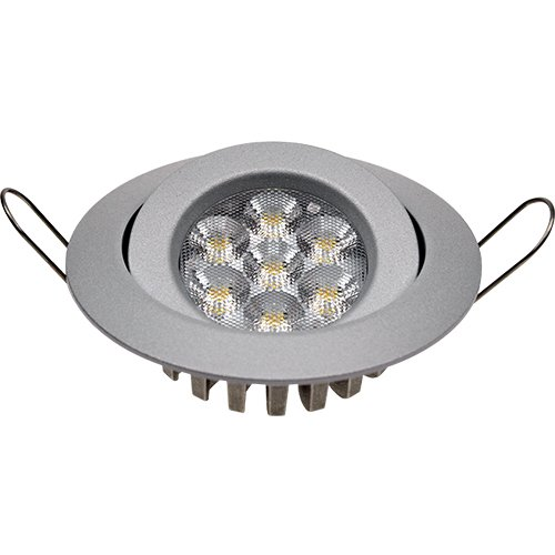 Guli TD20 Cibeles LED con Driver Incluido 3000K, 7 W, Plata, Ø100 x 25 mm: Amazon.es: Bricolaje y herramientas