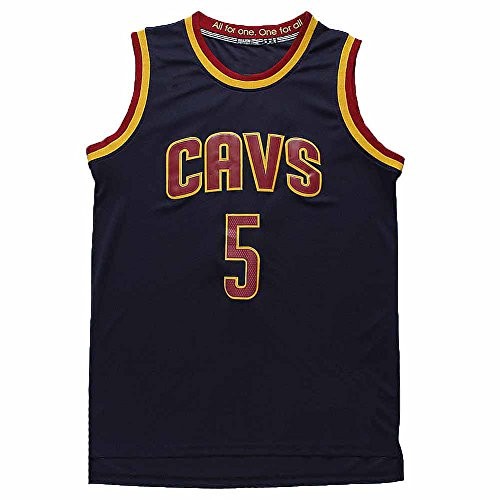 No.5 Smith Jersey [Please order the real seller:Sport.House.] Basketball Jersey Sports Embroidery Men's Jersey Deep Blue M