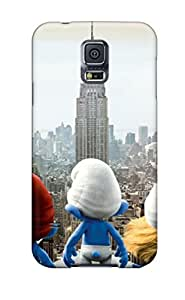 Cute Tpu CloudTown 2013 The Smurfs 2 Case Cover For Galaxy S5