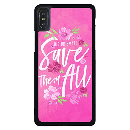 Amazon.com: Skinsends Cute Breast Cancer Quote Phone Cover ...