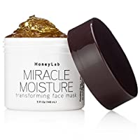 Honeylab Miracle Moisture Honey Facial Mask for wrinkles and fine lines with Manuka...