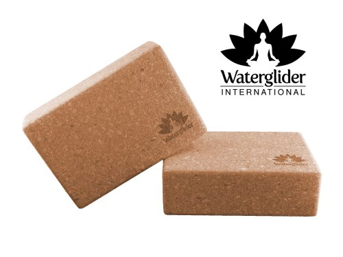 Yoga Cork 2 Block Saver Pack: 4 Inches X 6 X 9, 3 Inch X 6 X 9 By Waterglider International (Large: 4X6X9)