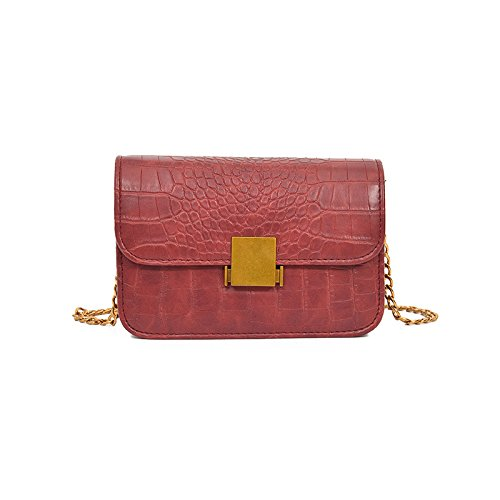 Lock De Brown Match gules Cross Bolsa Diagonal incense Cruz Solo Woman Hombro Dama All Hombro Bolso Pequeña q1SzxwtZ