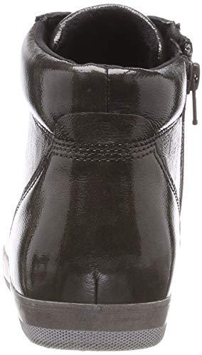 Mujer Comfort Shoes Fango Basic Zapatos Gabor 29 Micro para Gris Dark de Derby Cordones R8pq44xw