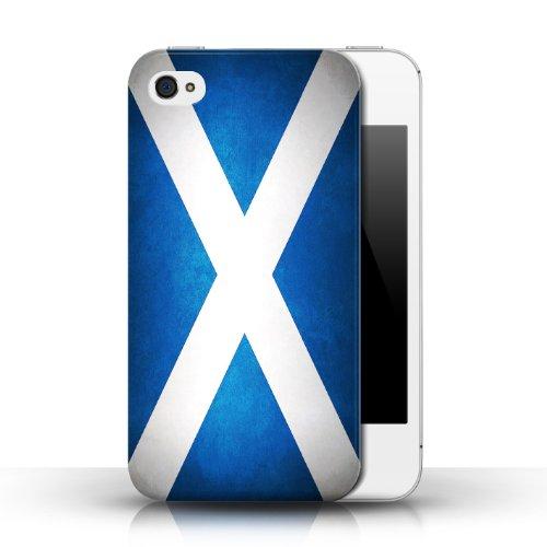 Etui / Coque pour Apple iPhone 4/4S / Écosse/écossais conception / Collection de Drapeau